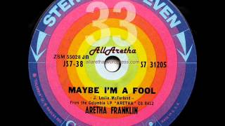 Aretha Franklin - Maybe I'm A Fool / It Ain't Necessarily So - 7″ 33 RPM - 1961