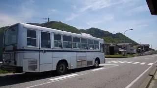 前面展望寒川~府屋駅前~府屋中町新潟交通観光バス_路線バスで北上中!