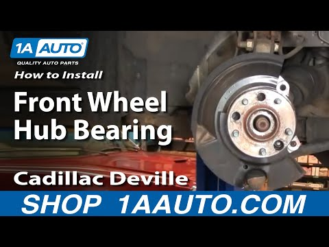 How to Replace Wheel Bearing & Hub Part 1 97-99 Cadillac Deville