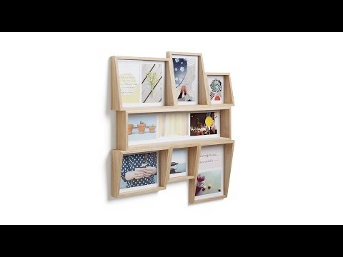 Video for Edge Multiple Slot Wall Photo Display