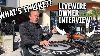 INTERVIEW WITH A REAL HARLEY-DAVIDSON LIVEWIRE OWNER