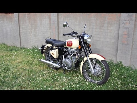 Aaron J. Attard - 2014 Royal Enfield Classic 500 - Review