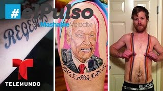 El Pulso | 10 Tattoos That Would Make You Lose Faith In Humanity | Telemundo