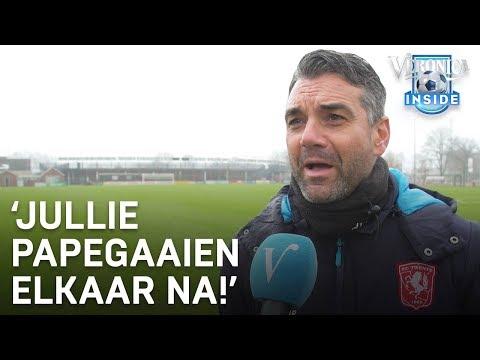 Twente-trainer geïrriteerd: 'Jullie papegaaien elkaar na!'   VERONICA INSIDE