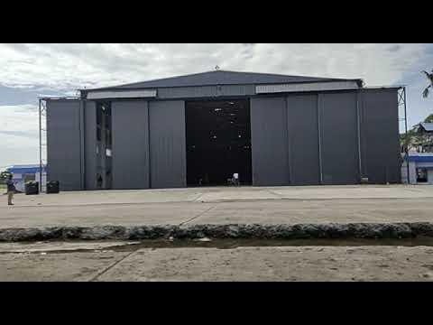Automatic Aircraft Hanger Door