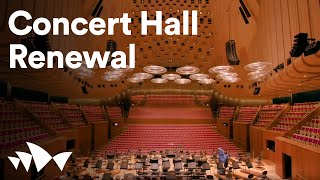 Work Begins To Transform Concert Hall | Sydney Opera House