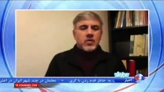 پیاده روی دردسر ساز ظریف و کری؛ انتقاد محافظه کاران به دولت روحانی