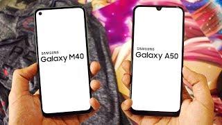 Samsung Galaxy M40 vs Galaxy A50: Speed Test!!!