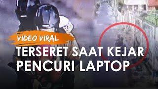 Video Viral Mahasiswi UNS Kejar Pencuri Laptop yang Berisi Skripsi hingga Terseret Sejauh 5 Meter