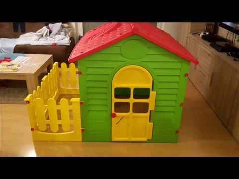 Kinderspielhaus XXL mit Terrasse / Gartenhaus