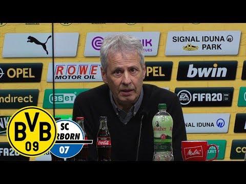 Pressekonferenz nach dem Spiel   BVB - SC Paderborn   3:3