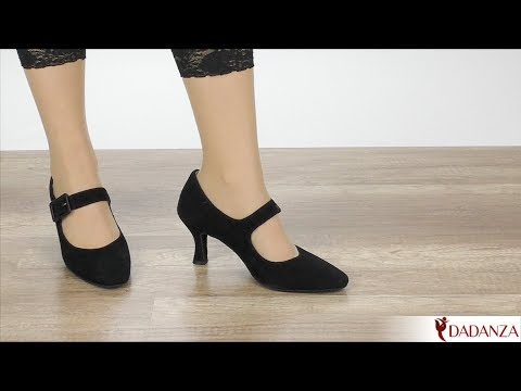 Anna Kern 684-60 Suede schwarz - DamenTanzschuhe