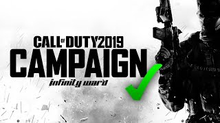Call Of Duty 2019 WILL Have Single-Player Campaign