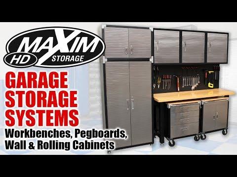 Maxim Heavy Duty Garage Storage Systems Online Cabinets Shelves Australia