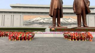 北朝鮮平壌金日成誕生日・生誕祭その3PyeongyangKimIl-sung