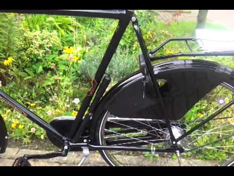 Amsterdam Herren Hollandrad 28 Zoll 65 cm Rahmenhöhe schwarz 3 Gang