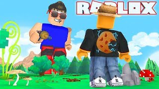 Worlds Biggest Noob Roblox Worlds Biggest Giant Vs Me In Roblox Minecraftvideos Tv