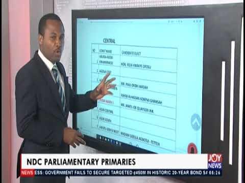 NDC Parliamentary: Candidate Elect - AM Show on JoyNews (26-8-19)