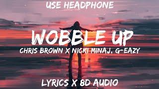 Chris Brown   Wobble Up (Lyrics  Letra  8D Audio BASS BOOSTEDSpanish) Ft. Nicki Minaj, G Eazy