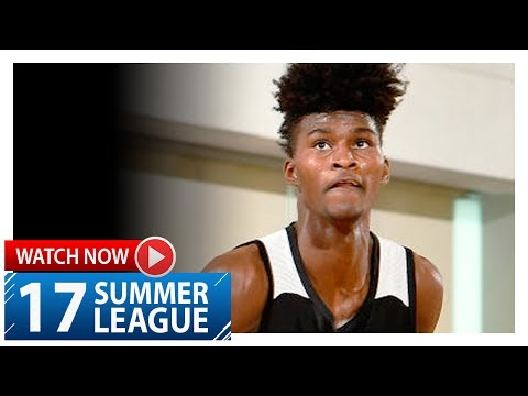 Jonathan Isaac Full Highlights vs Heat (2017.07.02) Summer League – 15 Pts 13 Reb