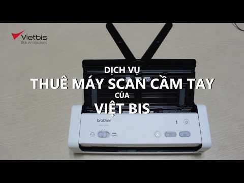 Thuê máy scan cầm tay Brother