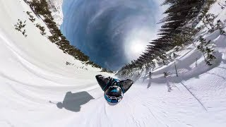 GoPro Fusion: Snowy Proximity Wingsuit with Marshall Miller in 360º VR