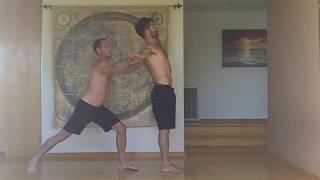 AcroYoga: Tari Mannello & Daniel Scott Counter Balance Basic Warmup