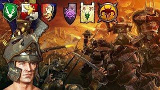 SUBCOMMANDERS   ORDER Vs. CHAOS Epic Battle Of Armageddon!   Total War Warhammer 2