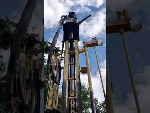 Water Well Drilling Rig With 200 Meters Stallion Truck