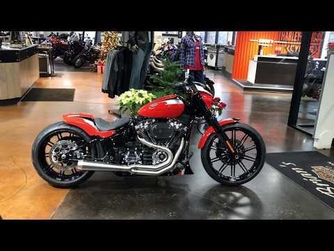 New customized 2020 Harley-Davidson® Softail breakout 114 fxbrs