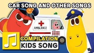 CAR SONG AND OTHER SONGS | 29MIN | LARVA KIDS | LEARN TO VEHICLES