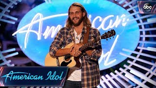 """Brandon Elder Auditions With Original Song About His Mom Called """"Gone"""" - American Idol 2018 On ABC"""