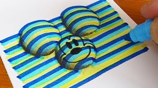 How To Draw 3D Mickey Mouse (Disney) Coloring Pages | Learning Colouring Videos