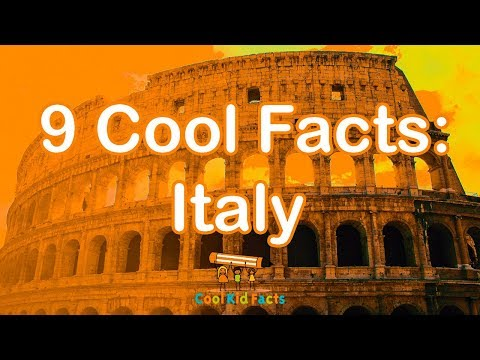 Italy Facts For Kids Facts About Italy Cool Kid Facts