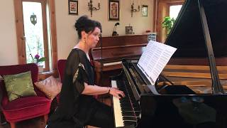 Slipping Through My Fingers ABBA (Piano Cover) Ulrika A. Rosén, piano.