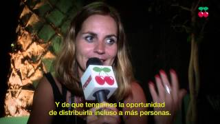 Anja Schneider Interview at Pacha Ibiza 2014
