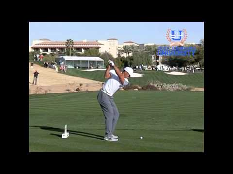 Tiger Woods Golf Swing 2015 7i DL