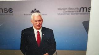 : Pence Pledges US Stands Firm With NATO
