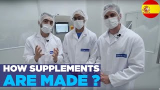 HOW SUPPLEMENTS ARE MADE? Pharmaceutical Quality - Olimp Sport Nutrition