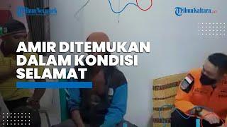 Tersesat saat Mengecek Tambak, Amir Ditemukan dalam Kondisi Sehat oleh Tim SAR di Perairan Beringin
