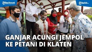 Buruh Tani di Klaten Ini Kembalikan Bansos di Depan Ganjar Pranowo, Sang Gubernur Acungi Jempol