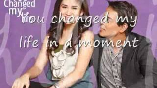 You Changed My Life in a moment w  lyriCs- Sarah Geronimo.