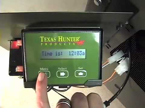Texas Hunter Fish Feeder