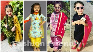 Kids Punjabi Suit Design 2019/ Punjabi Suit For Baby Girl And  Kids - Fashion Friendly