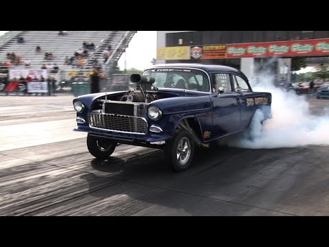 Download Best of 55-57 CHEVYS Drag Racing in HD Mp4 HD Video and MP3