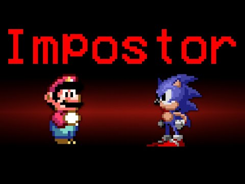 If Mario and Sonic Were The Impostors