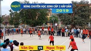 Bóng chuyền học sinh cấp 2 Thạch Thành 2019    Vân Du &  Ngọc Trạo