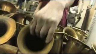 SELMER How saxophones are made