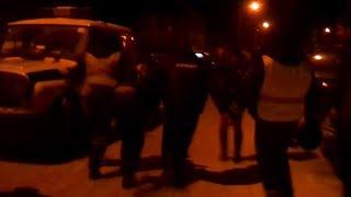 Полицейские скрутили пьяного водителя в Екатеринбурге