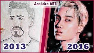 Мои рисунки 15-19 лет | Как менялись мои работы?